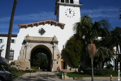Courthouse in Santa Barbara
